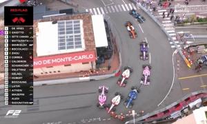 Mick Schumacher va chạm, gây gián đoạn cuộc đua F2