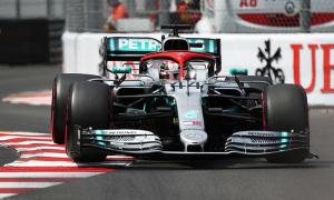 Hamilton chiến thắng tại MonacoGP
