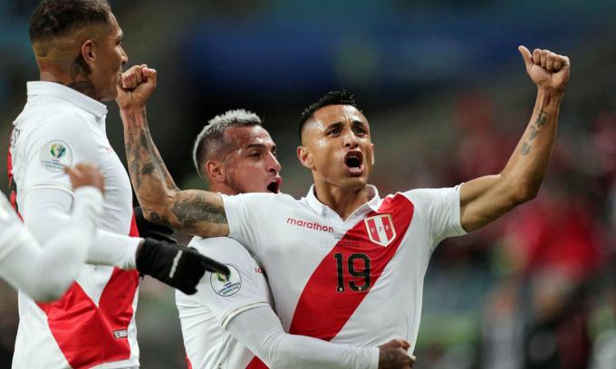 Peru nhận mưa tiền thưởng nhờ về nhì Copa America 2019