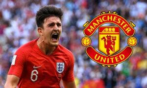 Man Utd thắng Man City trong cuộc đấu giá Maguire