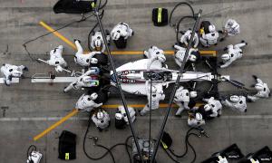 Cuộc chiến từng phần trăm giây ở các đội pit F1