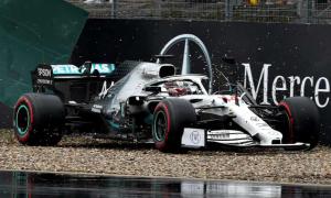 Ngày giông bão của Lewis Hamilton ở chặng đua nước Đức