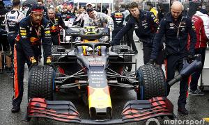 Verstappen xuất phát chậm ở Hockenheim vì lỗi động cơ