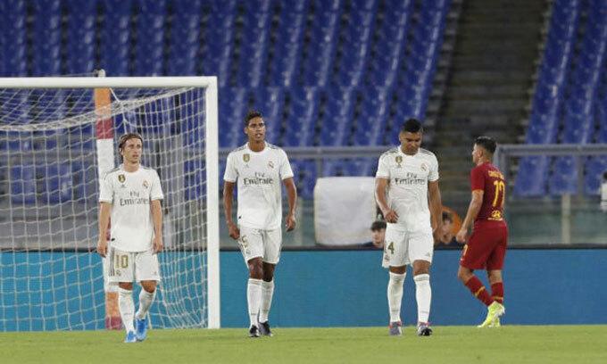 Real thua Roma trong loạt đá luân lưu