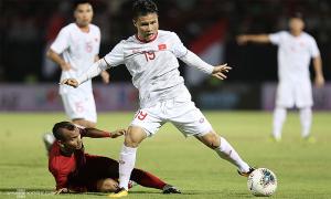 Hoãn hai trận của đội tuyển Việt Nam