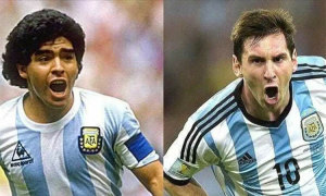 Wenger: 'Messi vẫn sống dưới cái bóng của Maradona'