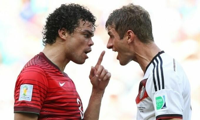 Thomas Muller: 'Pepe sợ Ronaldo nổi giận'
