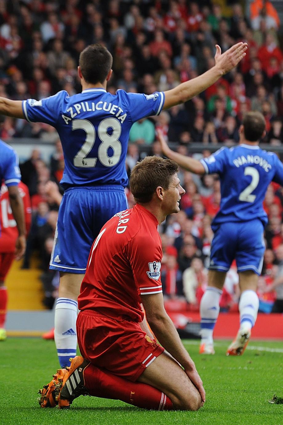 Lịch sử không đứng về phía Liverpool