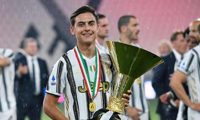 Serie A loại Ronaldo, vinh danh Dybala
