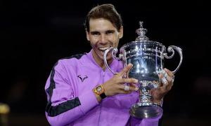 Nadal không dự Mỹ Mở rộng