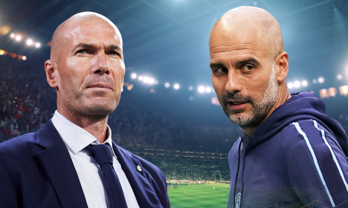 Tương quan giữa Zidane và Guardiola