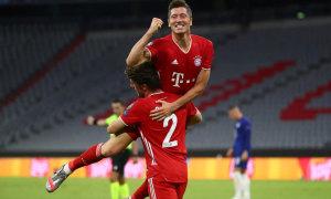 Lewandowski còn ba trận để phá kỷ lục của Ronaldo