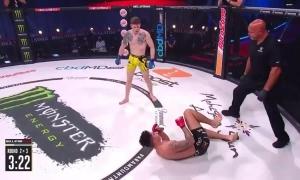 Võ sĩ MMA thua sau loạt đá bằng chân