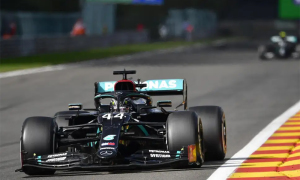 Hamilton thắng dễ Grand Prix Bỉ