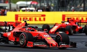 Ferrari lập kỷ lục buồn ở Grand Prix Bỉ