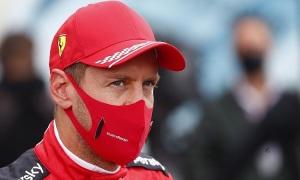 Vettel lần đầu đứng ngoài top 5 bảy chặng liên tiếp