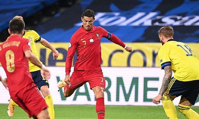Thụy Điển 0-2 Bồ Đào Nha