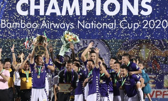 Hà Nội giữ Cup quốc gia