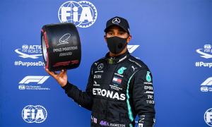 Hamilton suýt bị loại ở Grand Prix Nga