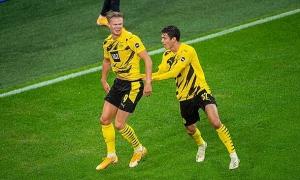 Haaland tỏa sáng khi Dortmund đại thắng