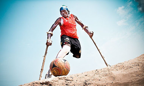 Đội bóng 'một chân' ở Sierra Leone