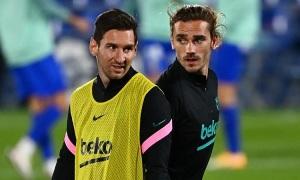Wenger: 'Griezmann trì trệ vì Messi'