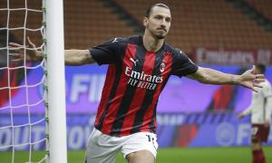 Ibrahimovic dẫn đầu danh sách ghi bàn Serie A
