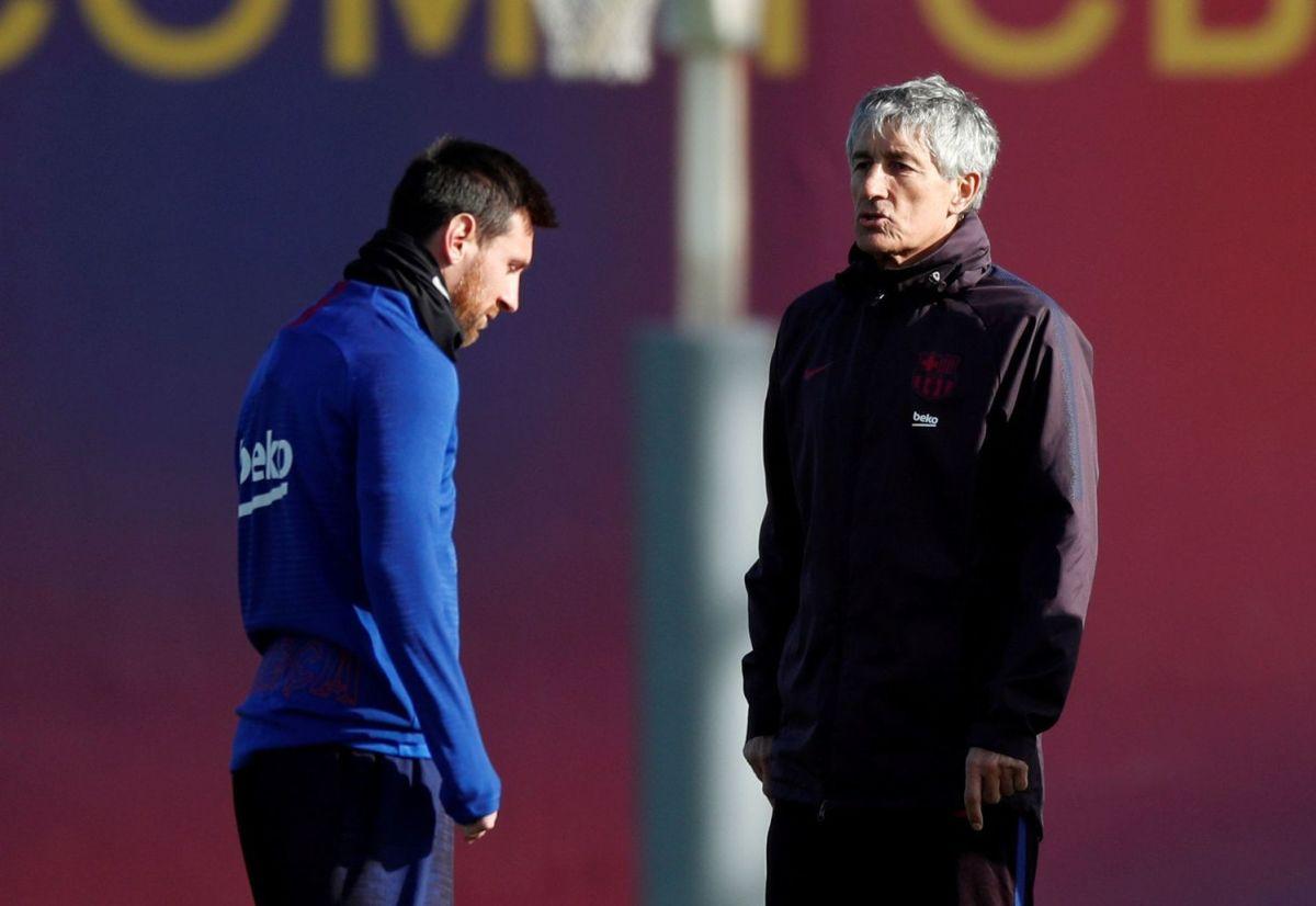 HLV Quique Setien: 'Rất khó để huấn luyện Messi' - VnExpress Thể thao