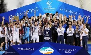 Viettel lần đầu vô địch V-League
