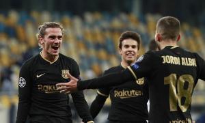 Bốn đội đã giành vé đi tiếp ở Champions League