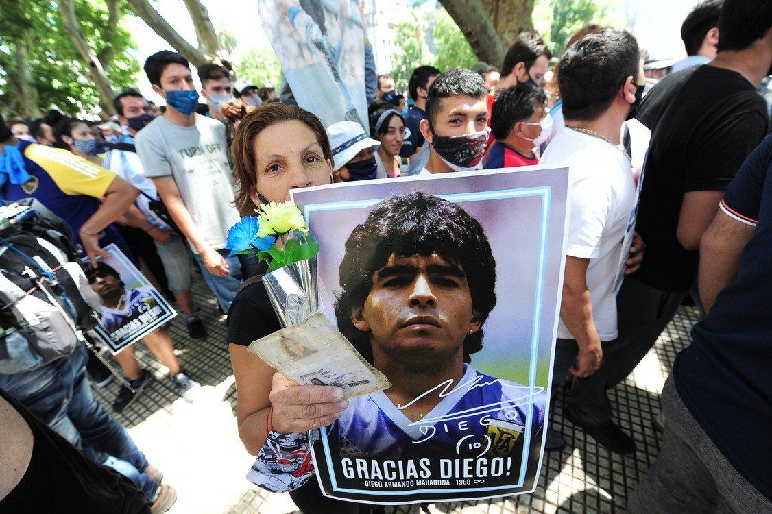 Đám tang xúc động của Maradona - VnExpress Thể thao