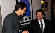 Loạt sao quần vợt tiếc thương Maradona