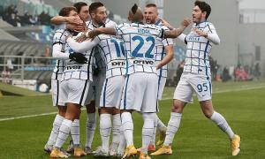 Inter lên nhì bảng Serie A