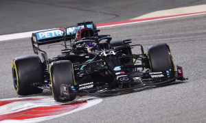 Hamilton về nhất ở Grand Prix Bahrain