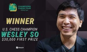 Wesley So thắng Vua cờ Carlsen