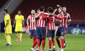 Atletico 2-0 Real Valladolid