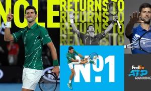 Những trận đấu đáng nhớ của Djokovic ở ATP 2020