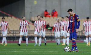 Barca thua trận tranh Siêu Cup Tây Ban Nha