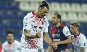 Ibrahimovic ghi cú đúp cho Milan