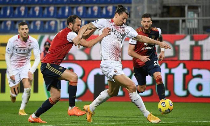 Ibrahimovic cố chứng tỏ không thua kém đàn em ở Milan