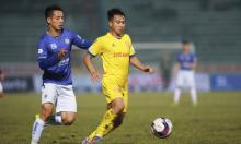 Cầu thủ Nam Định dính án phạt nguội