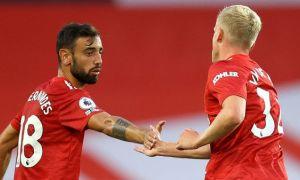 Fernandes: 'Nếu là Van De Beek, tôi sẽ không vui'