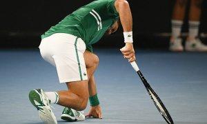 Djokovic không chắc đấu tiếp ở Australia Mở rộng