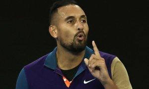 Kyrgios bị Thiem loại dù thắng hai set đầu