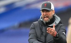 Merson: 'Liverpool sẽ sa thải Klopp nếu không vào top 4'