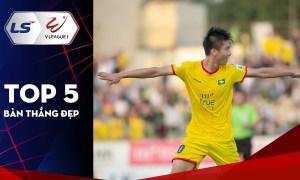 Top 5 bàn đẹp nhất vòng 9 V-League 2021