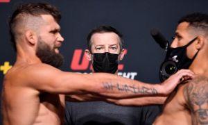 Trận UFC bị hủy vì một cú đẩy