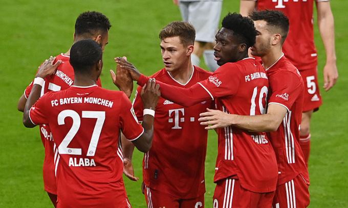 Bayern áp sát chức vô địch Bundesliga