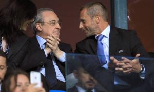 Chủ tịch UEFA: 'Perez muốn tôi tuân lệnh ông ấy'