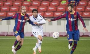 Koeman nổi đoá với sao trẻ Barca
